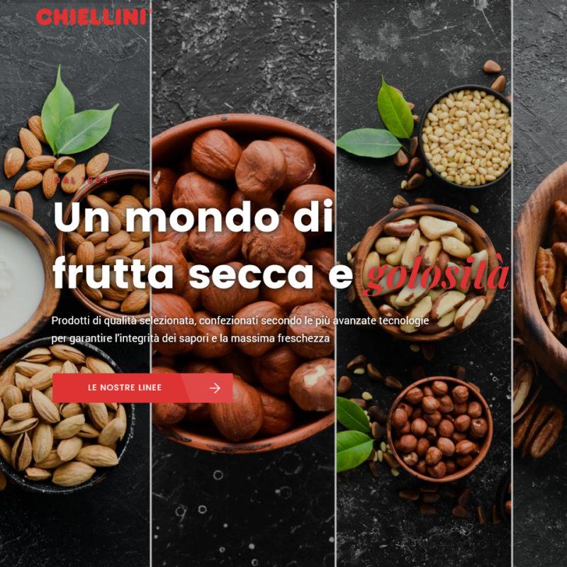 Creazione sito web Chiellini srl