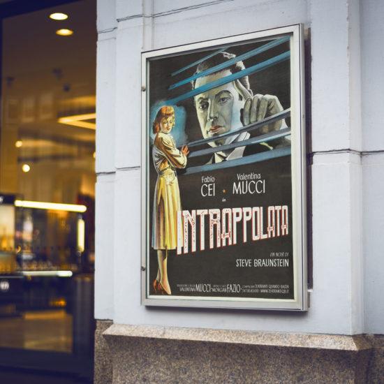 Intrappolata - manifesto teatrale