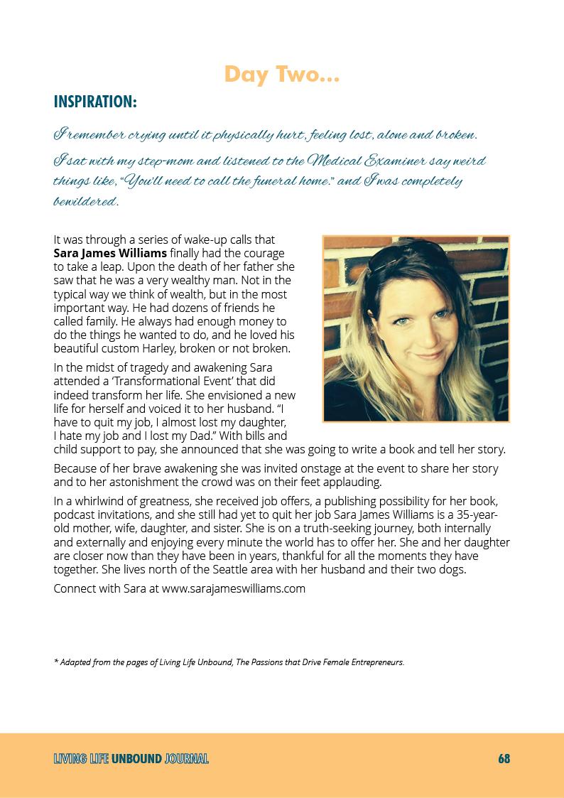 Living Life Unbound Journal - pagina 68