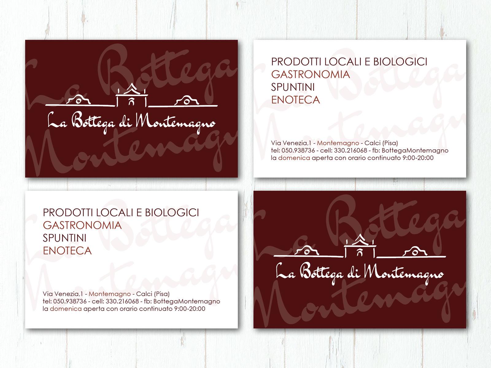 La Bottega di Montemagno - Biglietto da visita