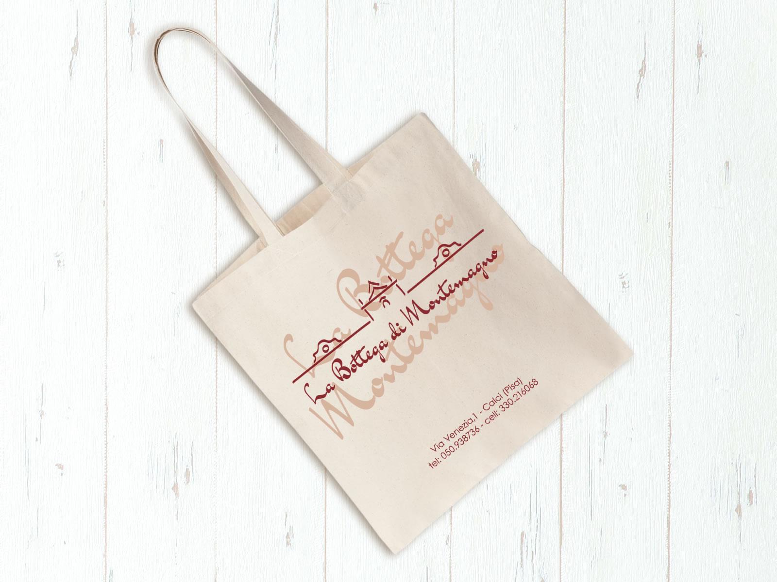 La Bottega di Montemagno - Shopping bag