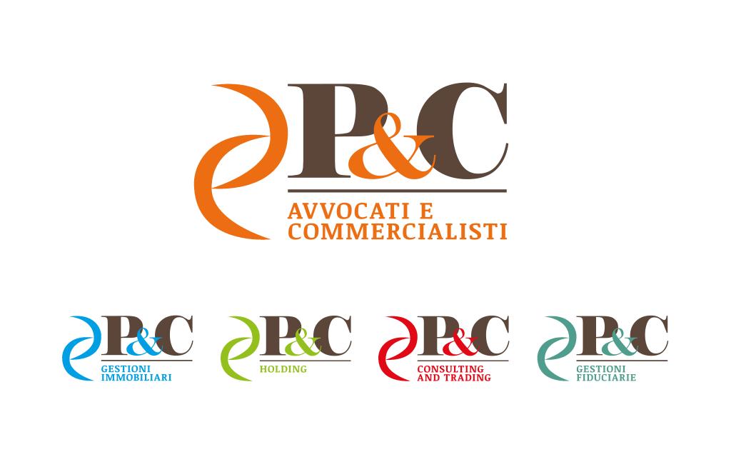 Loghi societari del gruppo P&C