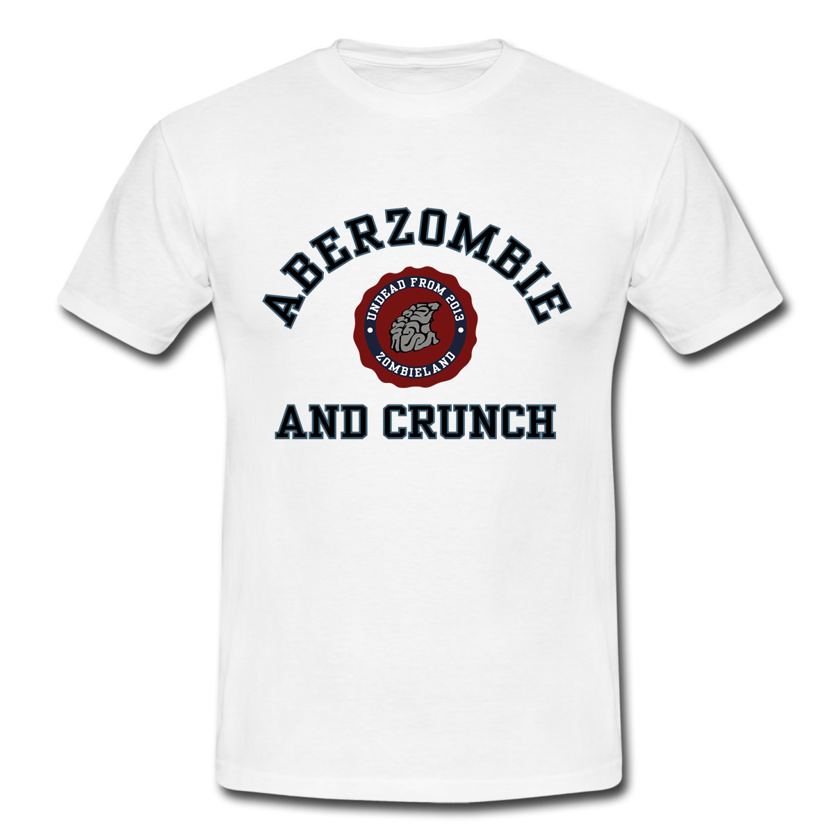 "Maglietta ""Aberzombie and Crunch"""