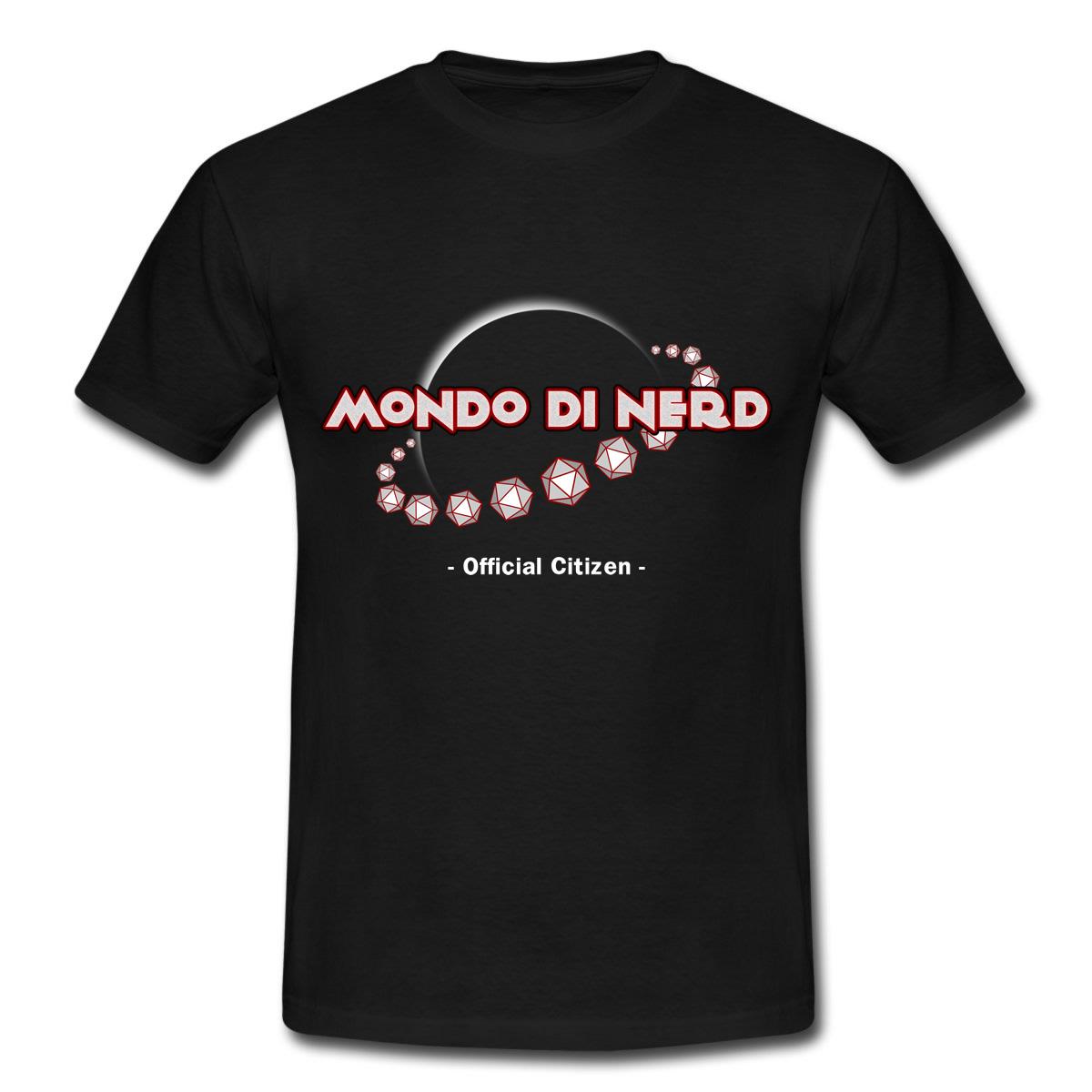 """Maglietta """"Mondo di Nerd"""""""