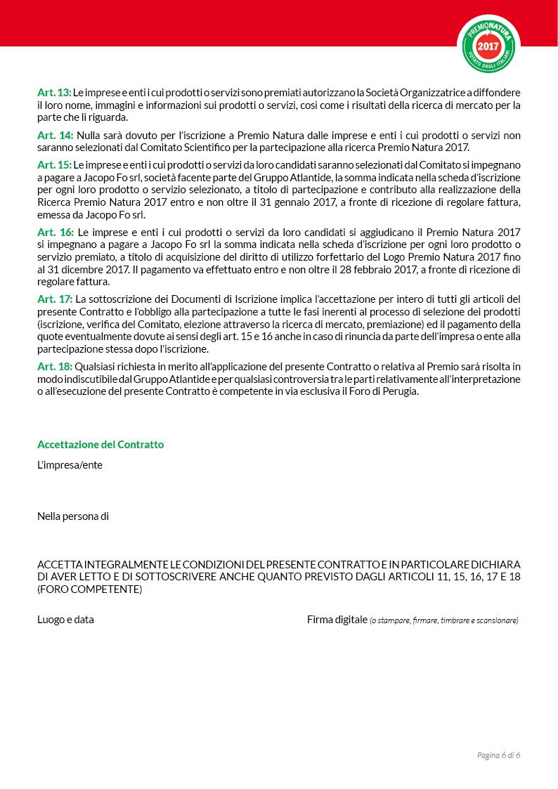 Modulo di iscrizione a Premio Natura - pag6