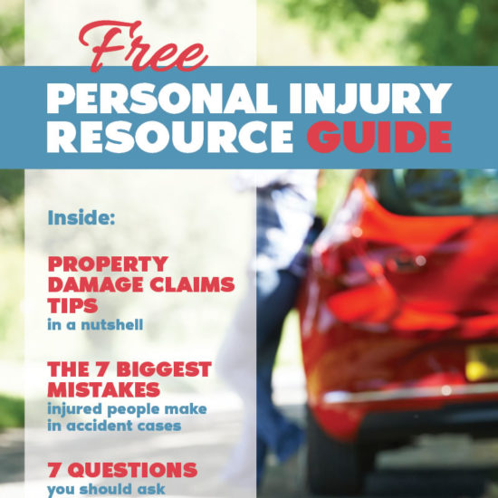 Personal Injury Resource Guide