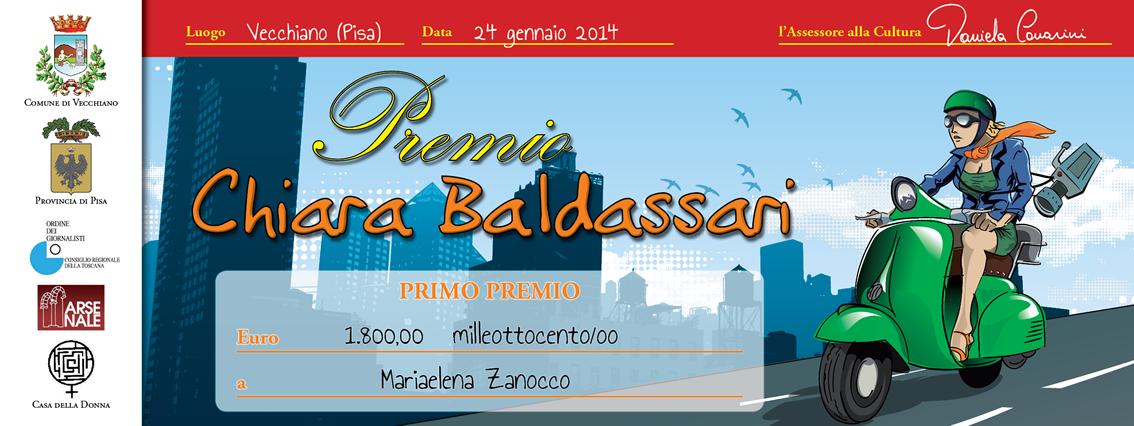 Premio Chiara Baldassari - assegno