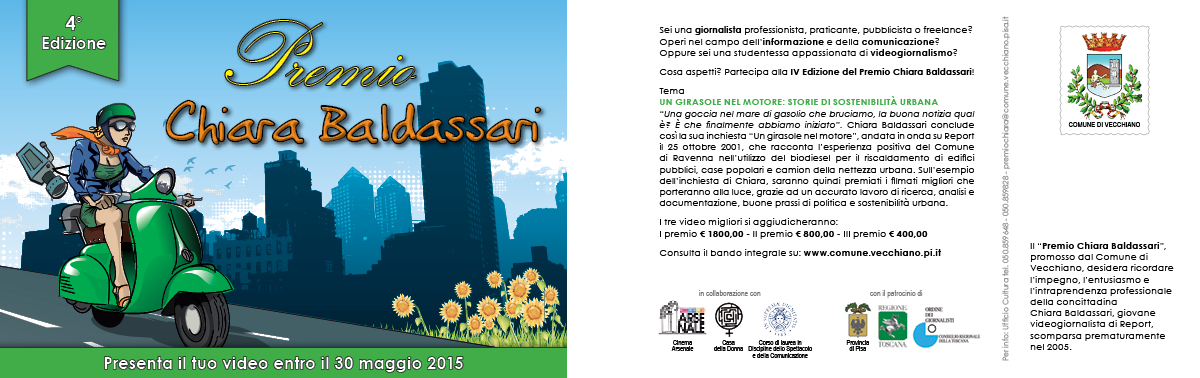 Premio Chiara Baldassari - cartolina