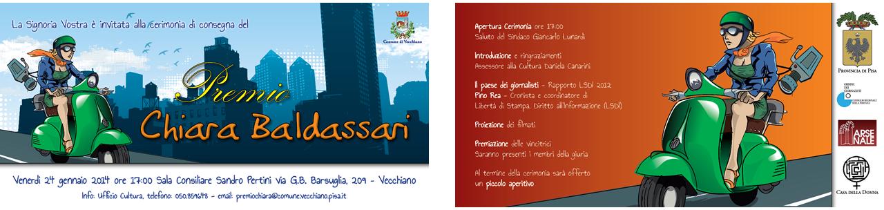 Premio Chiara Baldassari - invito