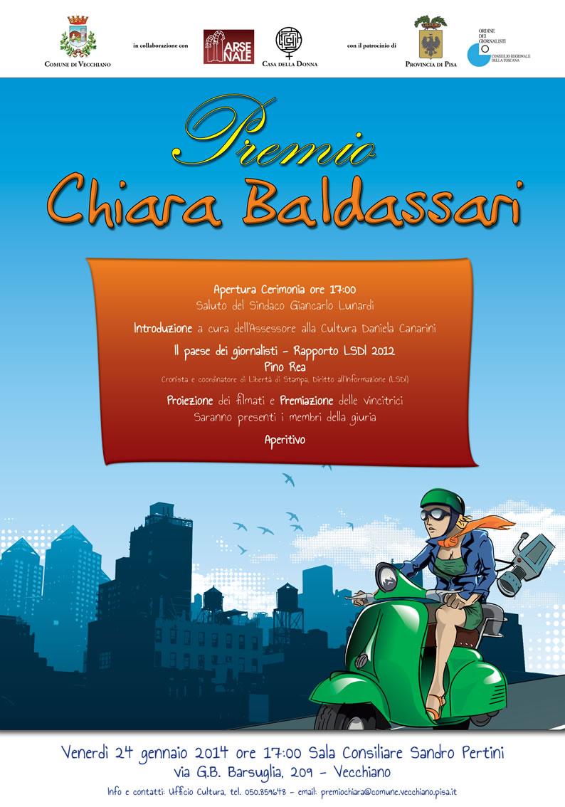 Premio Chiara Baldassari - manifesto 70x100