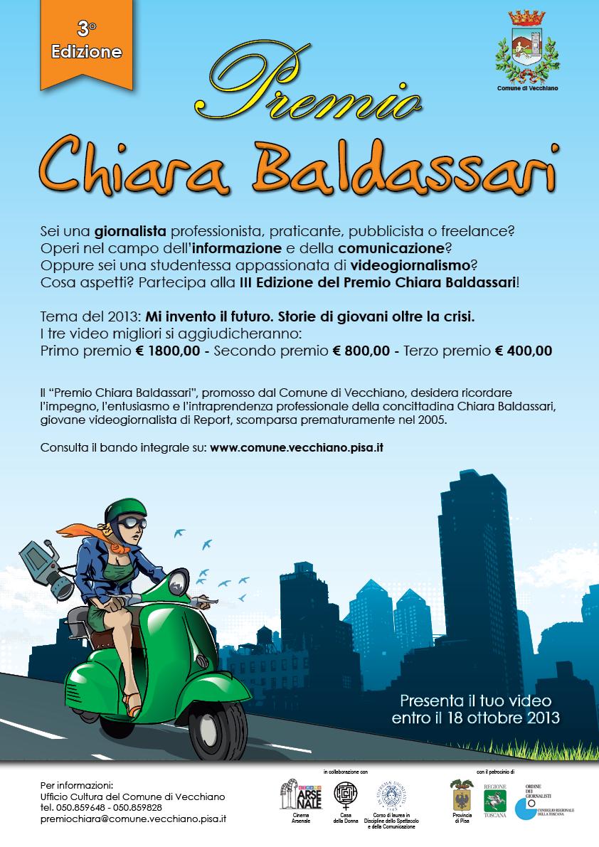 Premio Chiara Baldassari - manifesto A3