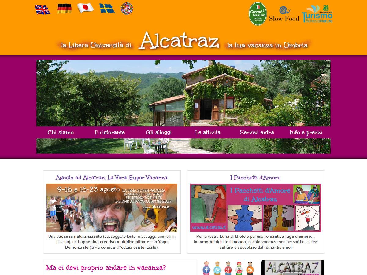 Sito web Alcatraz