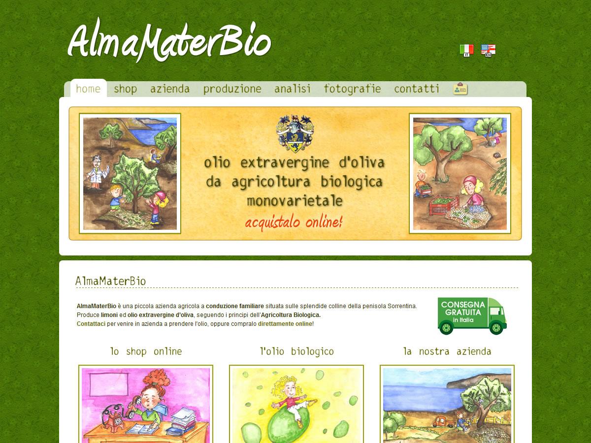 Sito web AlmaMaterBio