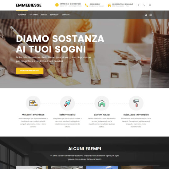 Sito web Emmebiesse.it