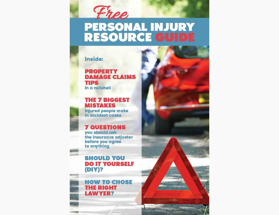 Personal Injury Resource Guide - copertina