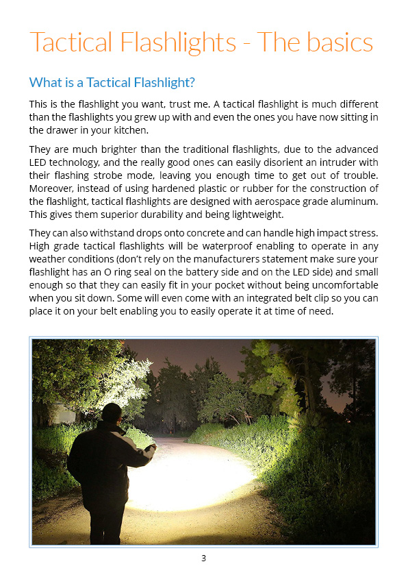 Your guide for choosing the best Tactical Flashlight - pag 3