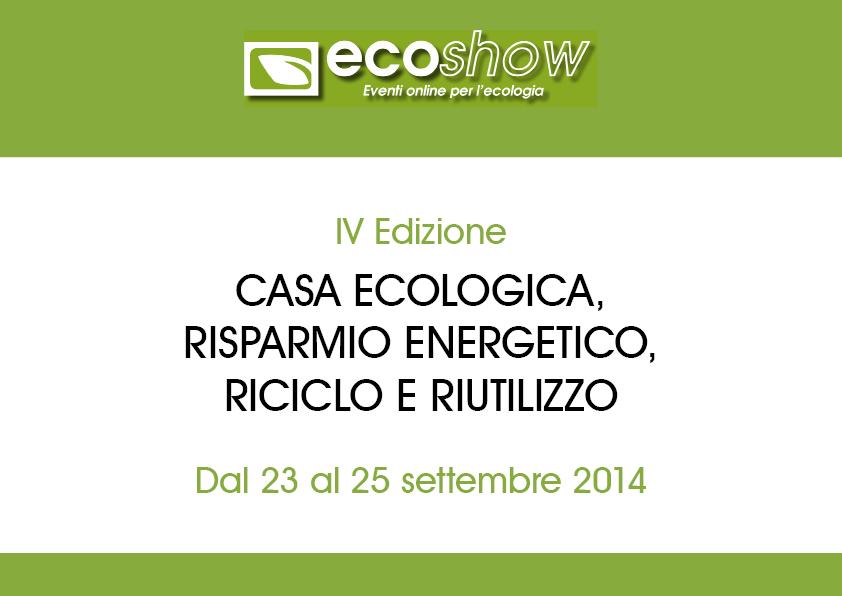 Presentazione pdf di Ecoshow 2014