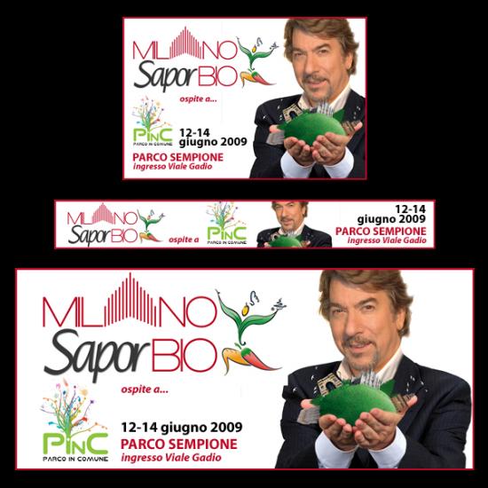 Banner di Milano Saporbio 2009